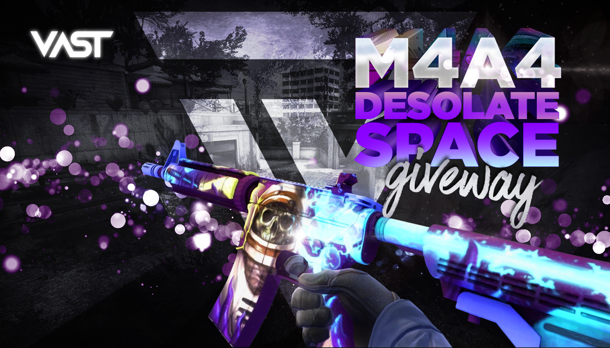 M4A4 Desolate Space Giveaway