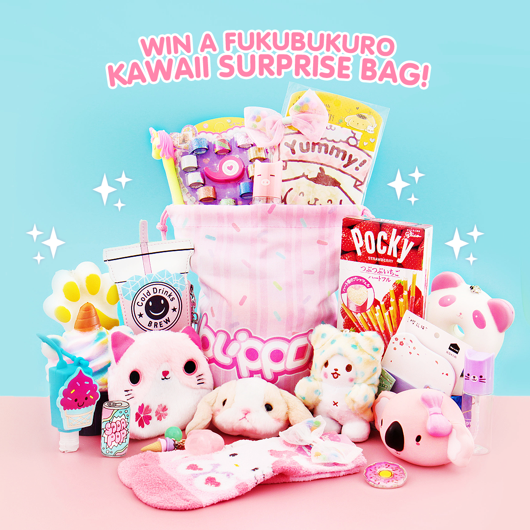 5 Winners Kawaii Surprise Bag Giveaway Blippo 2/14/19 Giveaway Image