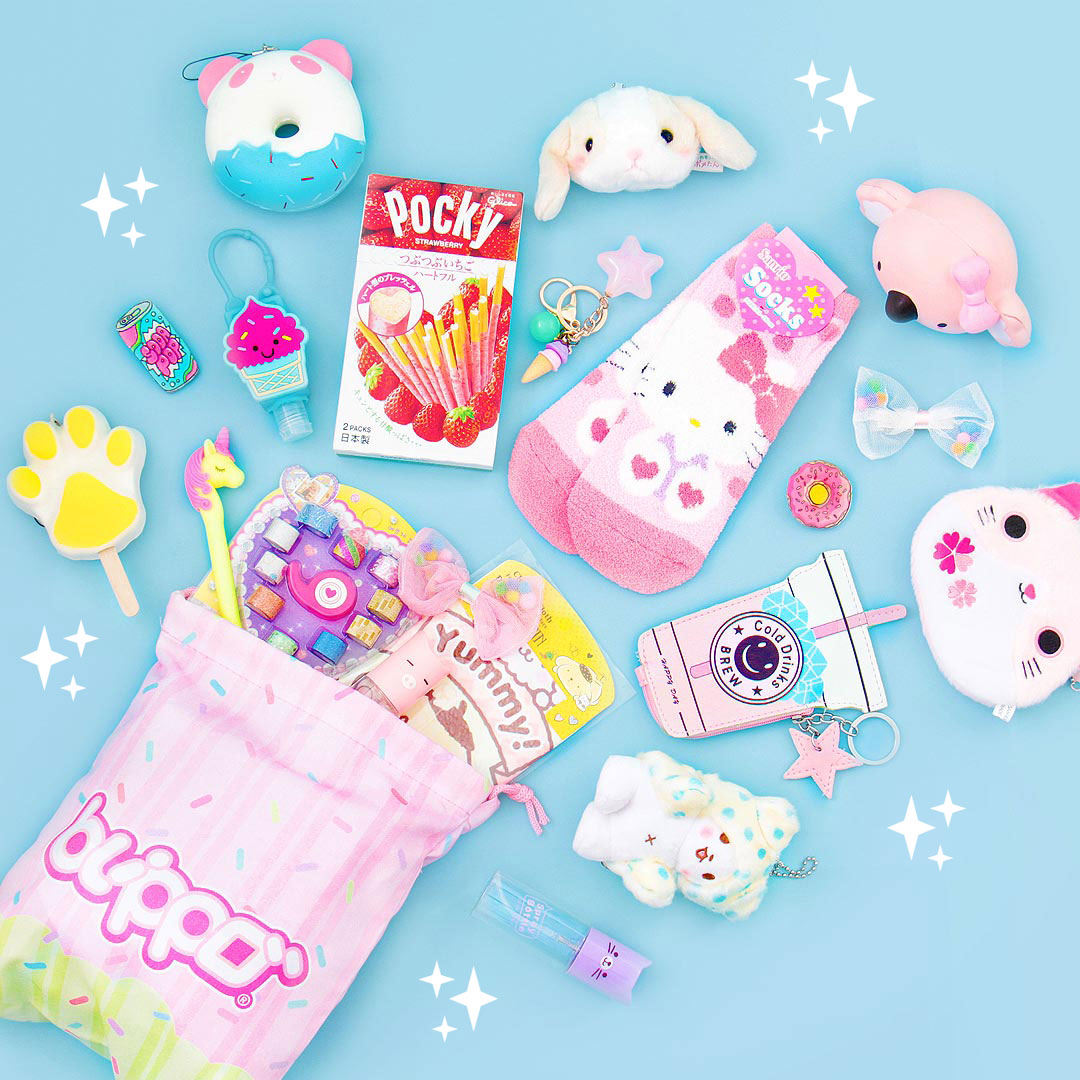 Enter for a chance to win a Kawaii Prize - the #1 source for Japanese candy, cute stationery, kawaii plushies & unique gifts Giveaway Image