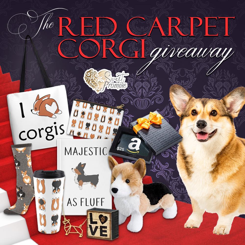 Red Carpet Corgi Giveaway