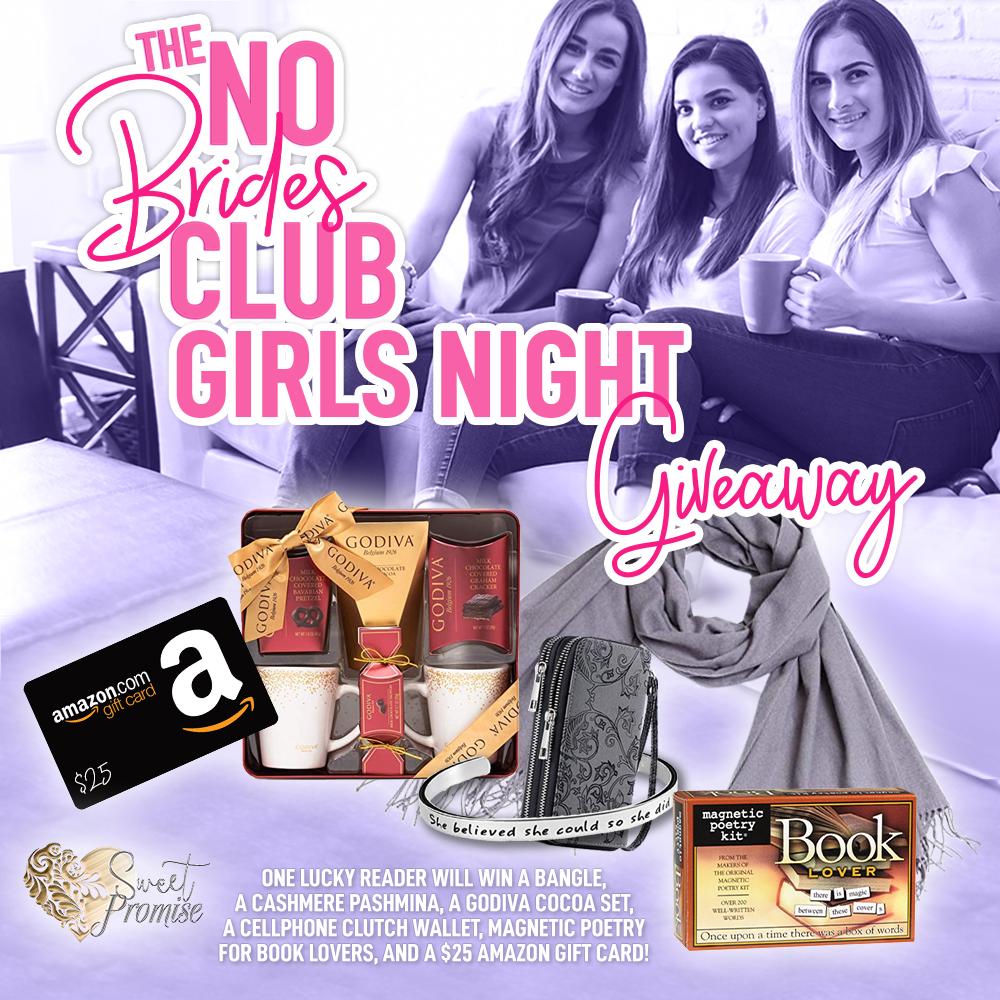 No Brides Club Girls Night Giveaway