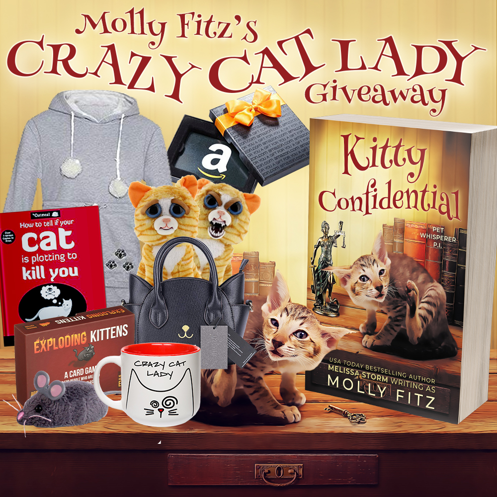 Molly Fitz's Crazy Cat Lady Giveaway
