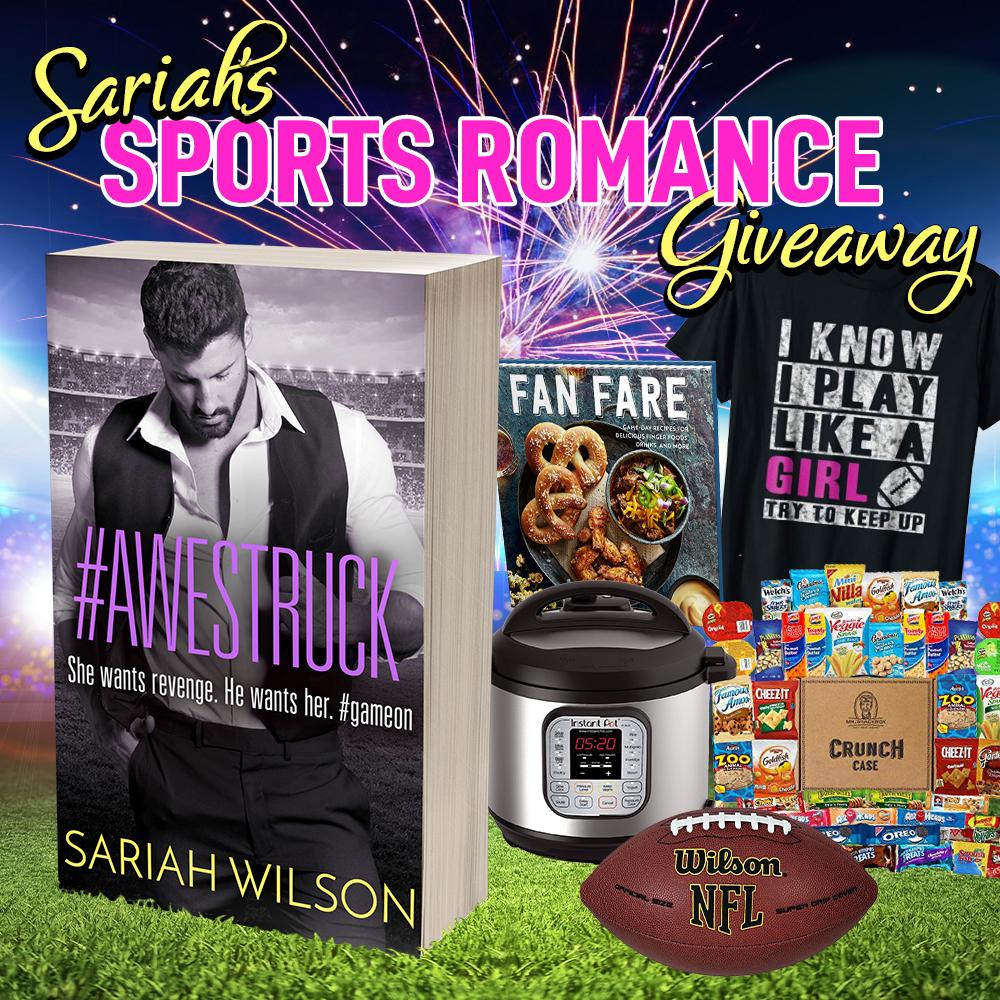 Sariah's Sports Romance Giveaway