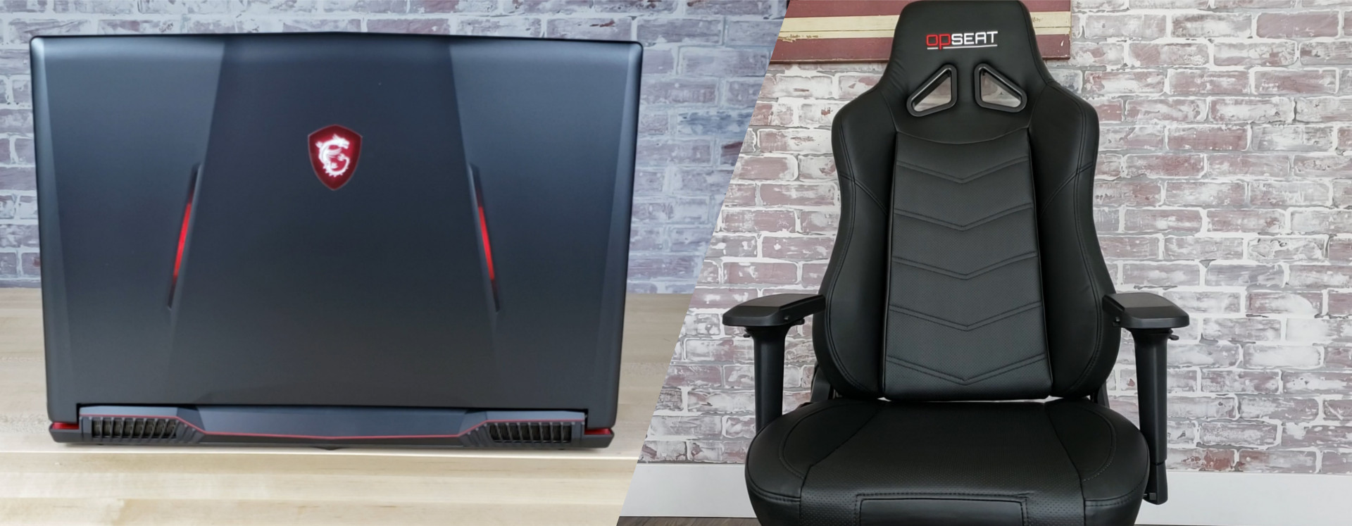 Win an MSI GV63 Gaming Laptop and OPSeat Grandmaster Gaming Chair!! Giveaway Image