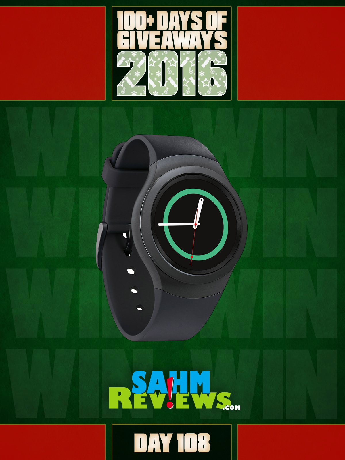 100+ Days of Giveaways - Day 108 - Samsung Gear S2 Smart Watch