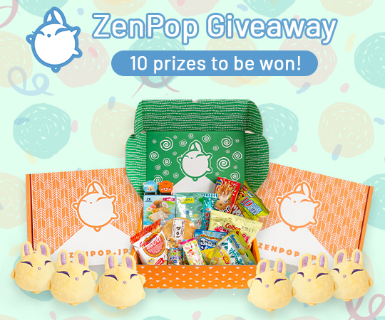 10 Winners: Japan Boxes ZenPop June Giveaway Giveaway Image