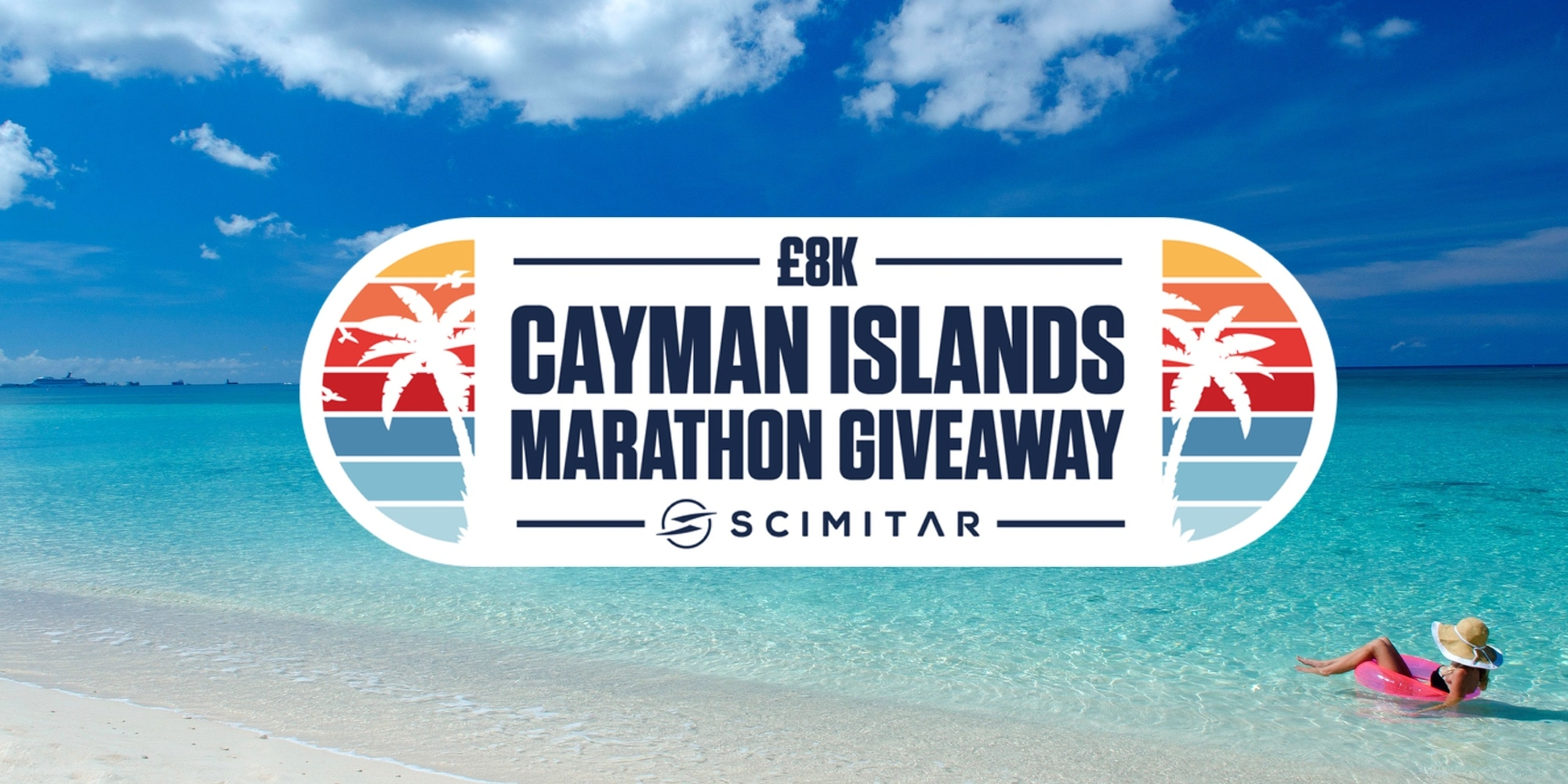 Scimitar x Visit Cayman Islands £8k Marathon Giveaway Giveaway Image