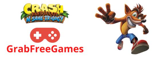 Crash Bandicoot N. Sane Trilogy - Steam Game Key - GrabFreeGames Giveaway Image