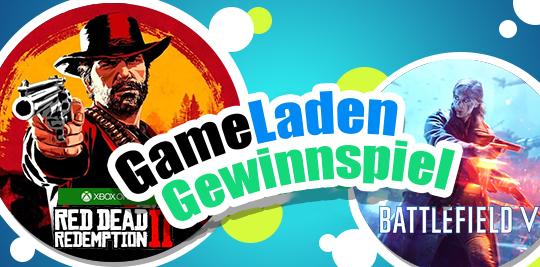 GEWINNSPIEL - 1x Red Dead Redemption 2 (Xbox One) und 1x Battlefield V (PC) Giveaway Image