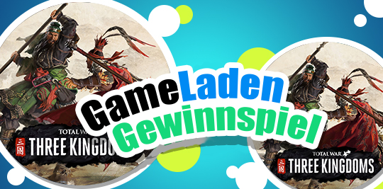 Enter for a chance to win 1 of 2 copies of Total War: Three Kingdoms from GameLaden for the PC Platform. Giveaway Image
