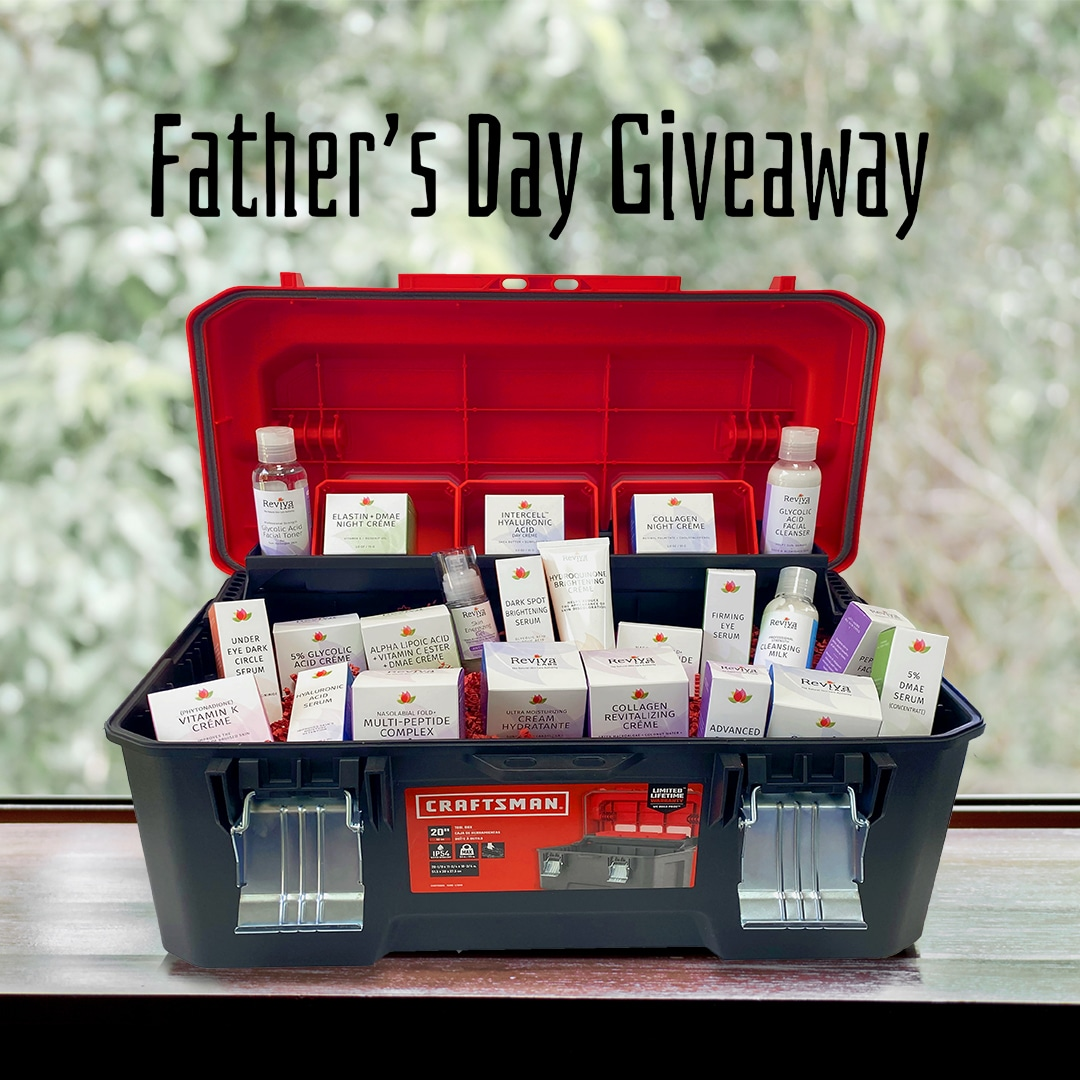 Reviva Labs $500 Father's Day Giveaway! Giveaway Image