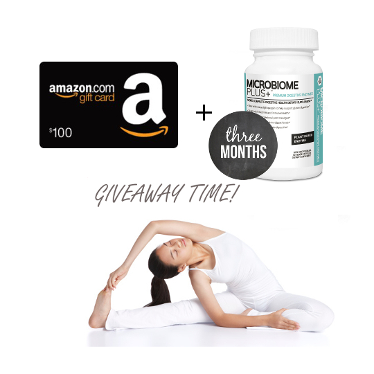$100 Amazon Gift Card Plus 3 Months of Premium Digestive Enzymes