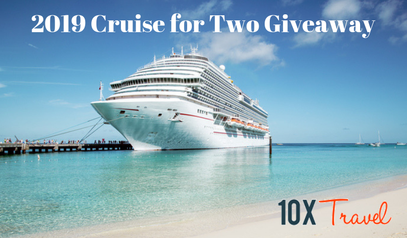 2019 Cruise for Two Giveaway