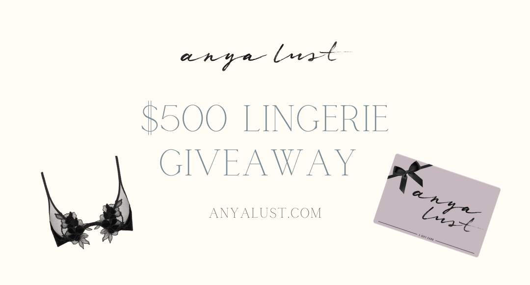 $500 Lingerie Giveaway Giveaway Image