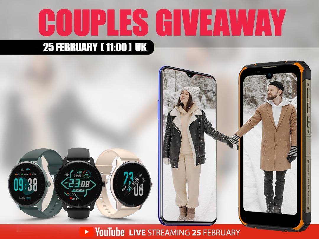 Win 1 pair of DOOGEE Smartphones + 3 pairs of DOOGEE Smartwatches (4 WINNERS) Giveaway Image