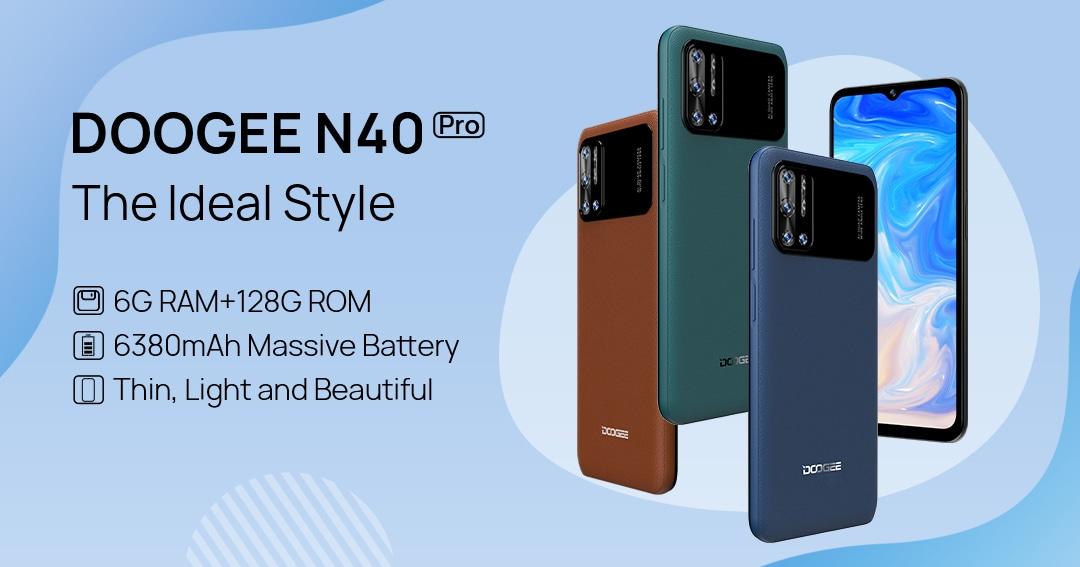 WIN 5x DOOGEE Smartphones N40 PRO and 5x DOOGEE Smartwatches CS2 PRO Giveaway Image