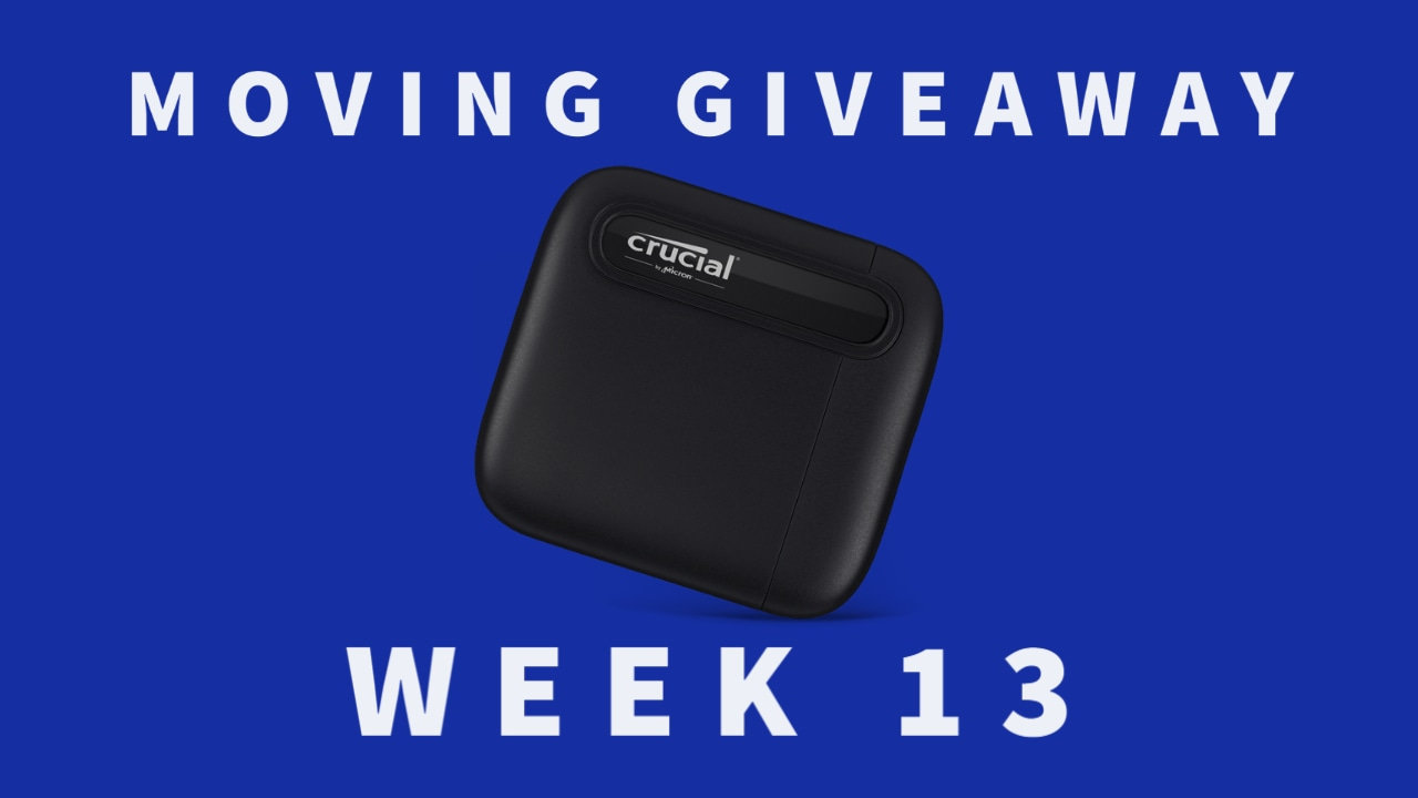 Crucial X6 2TB Portable SSD Giveaway Image