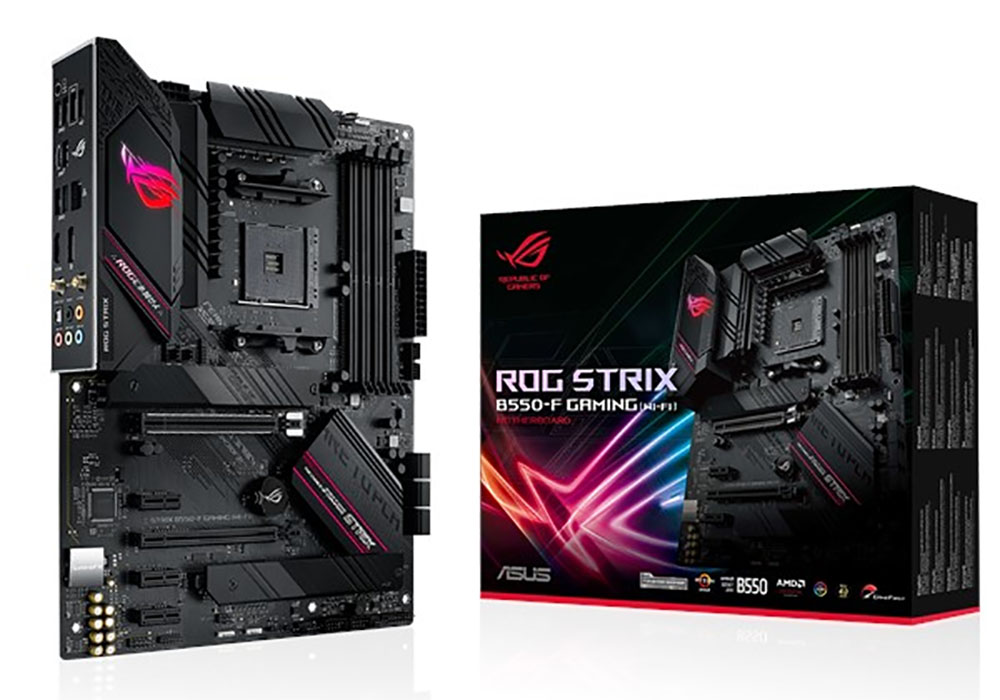 Win an ASUS ROG Strix B550-F Gaming (Wi-Fi) Motherboard! Giveaway Image