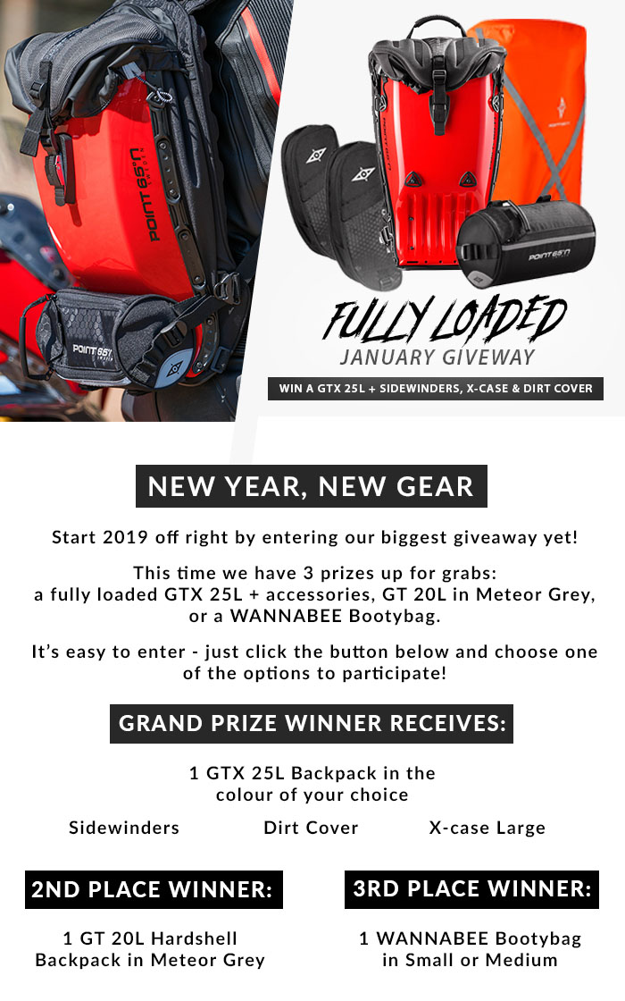 BOBLBEE JANUARY GIVEAWAY- Win a GTX 25L Backpack + Accessories