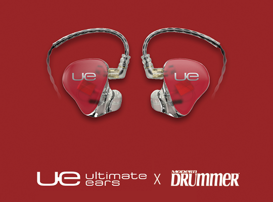 Win a pair of UE 11's from Modern Drummer
