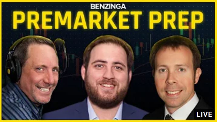 Enter to win up to $75 in Benzinga PreMarket Prep Swag. Benzinga is a content ecosystem that makes information easier to consume. 4 Winners! Giveaway Image
