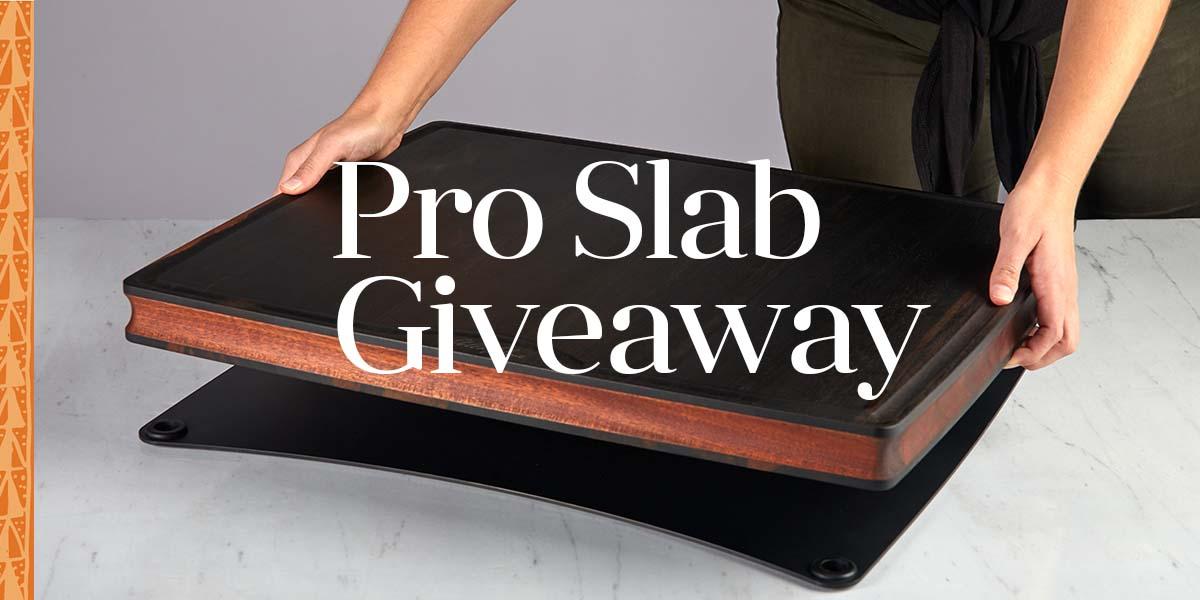 Win a Pro Slab Stella Falone cutting board ($479) Giveaway Image