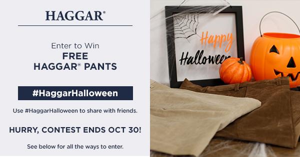 #HaggarHalloween Free Pants Giveaway