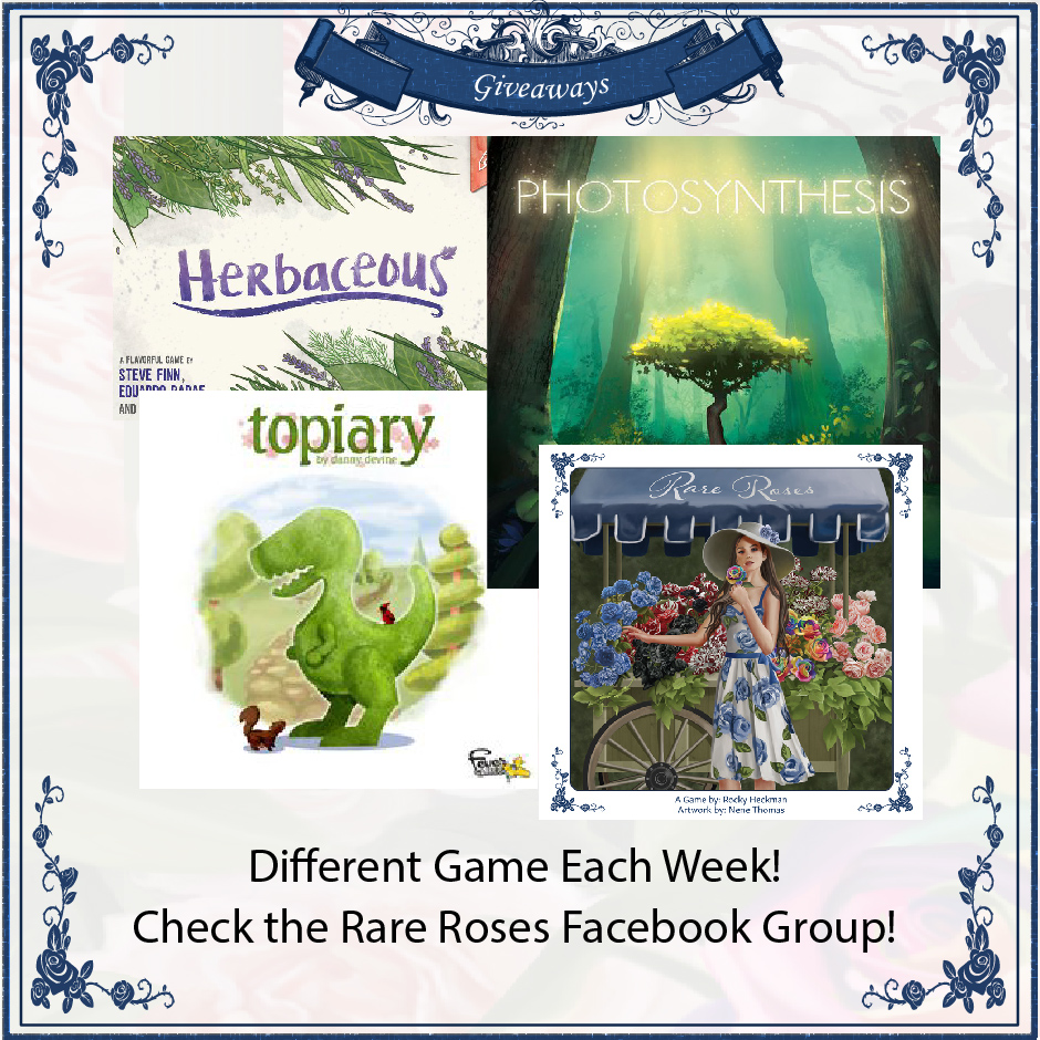 Win one of several board games Giveaway Image