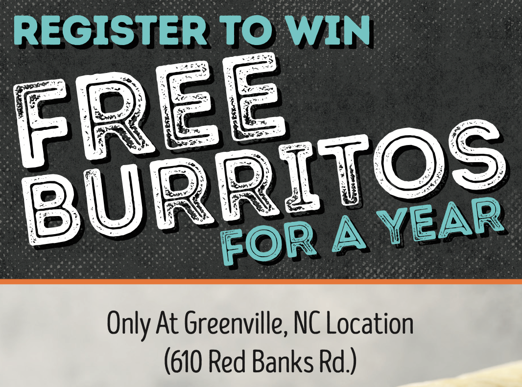 Free Burritos For A Year