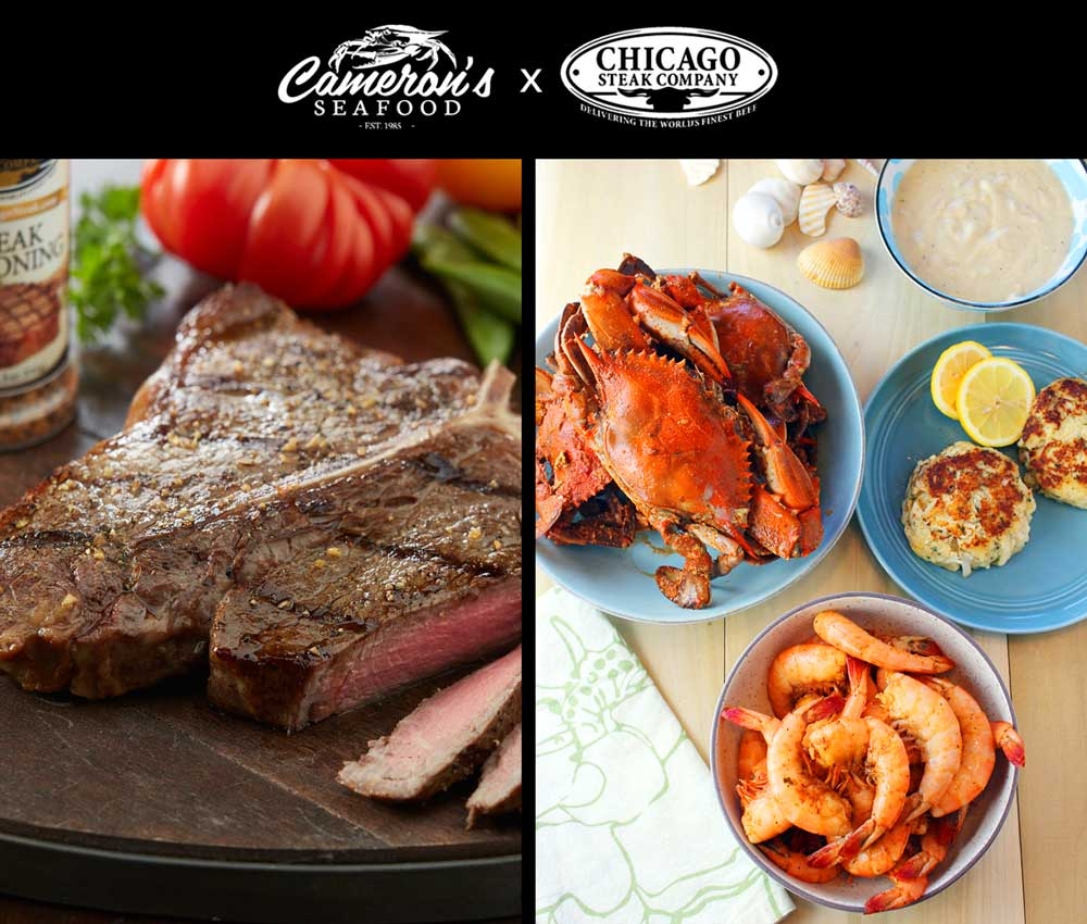 Surf and Turf Sweepstakes Giveaway Image