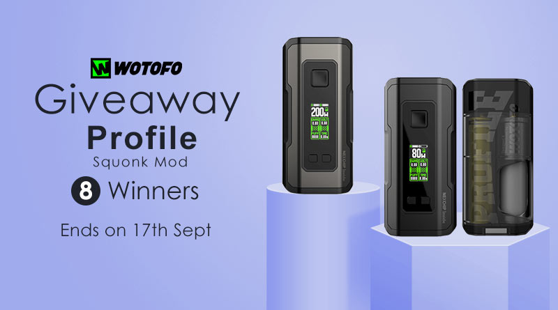 Wotofo Profile Squonk Giveaway Giveaway Image