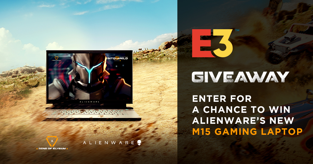 Alienware M15 Gaming Laptop Giveaway Giveaway Image