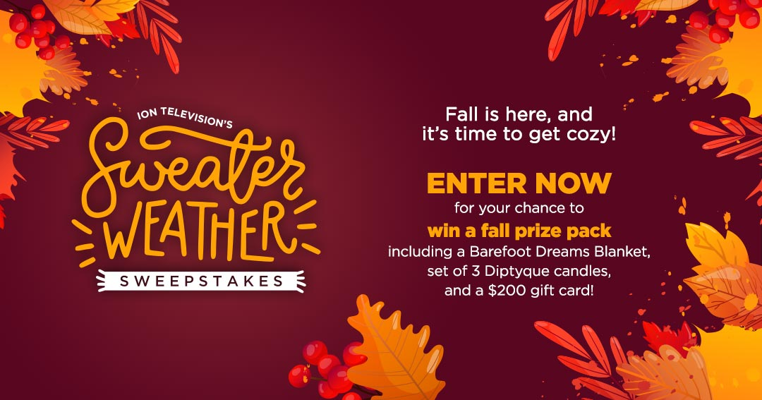 ION Television's Sweater Weather Sweepstakes