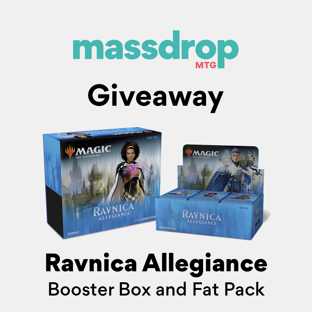 Win a Magic: The Gathering Ravnica Allegiance Bundle! Giveaway Image