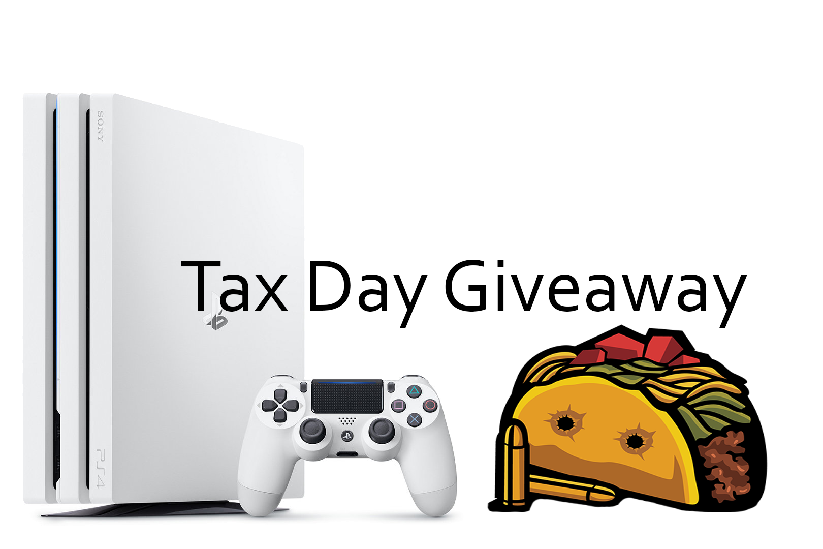 Bullet Taco Gaming: Win Limited Edition Playstation Pro Gaming Console