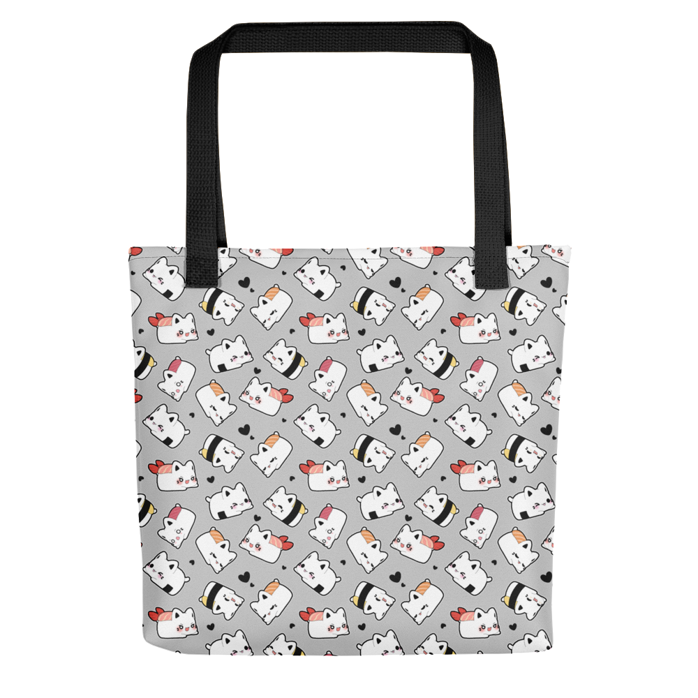 Enter to win a Sushi Meowchi All-over Print Tote Bag  International winners must pay shipping costs Giveaway Image