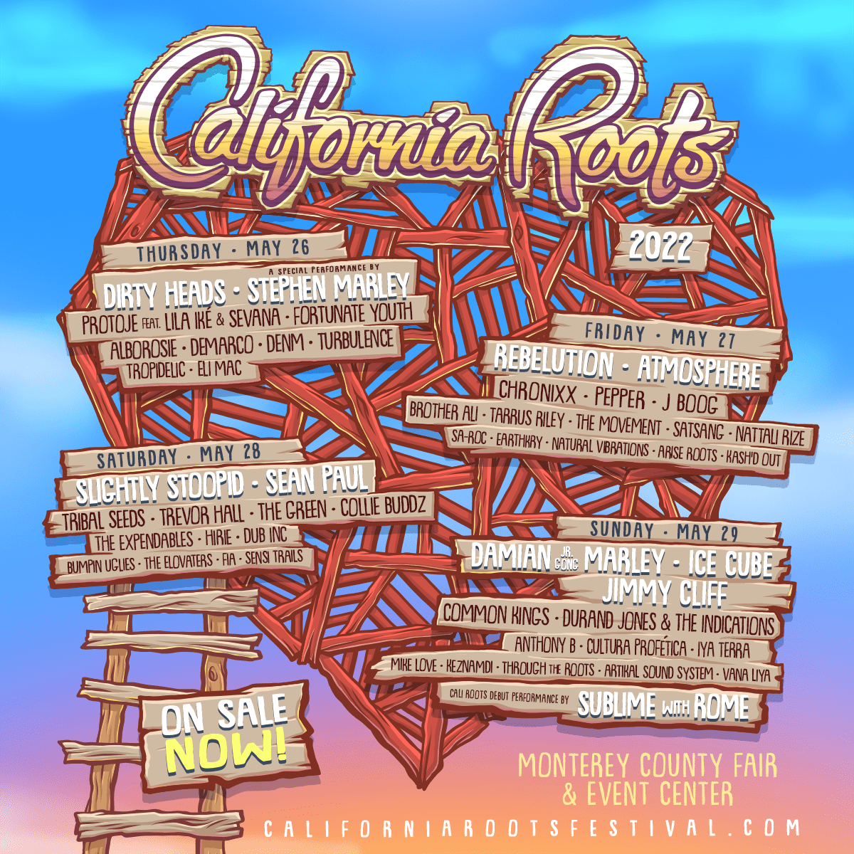 Win a Pair of Tickets to Cali Roots 2022! Giveaway Image