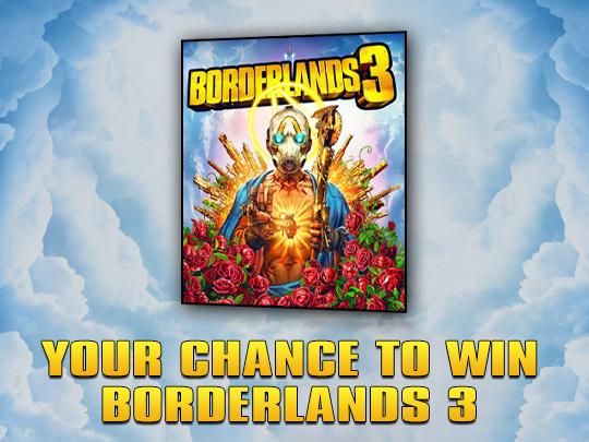 Borderlands 3 Giveaway Giveaway Image