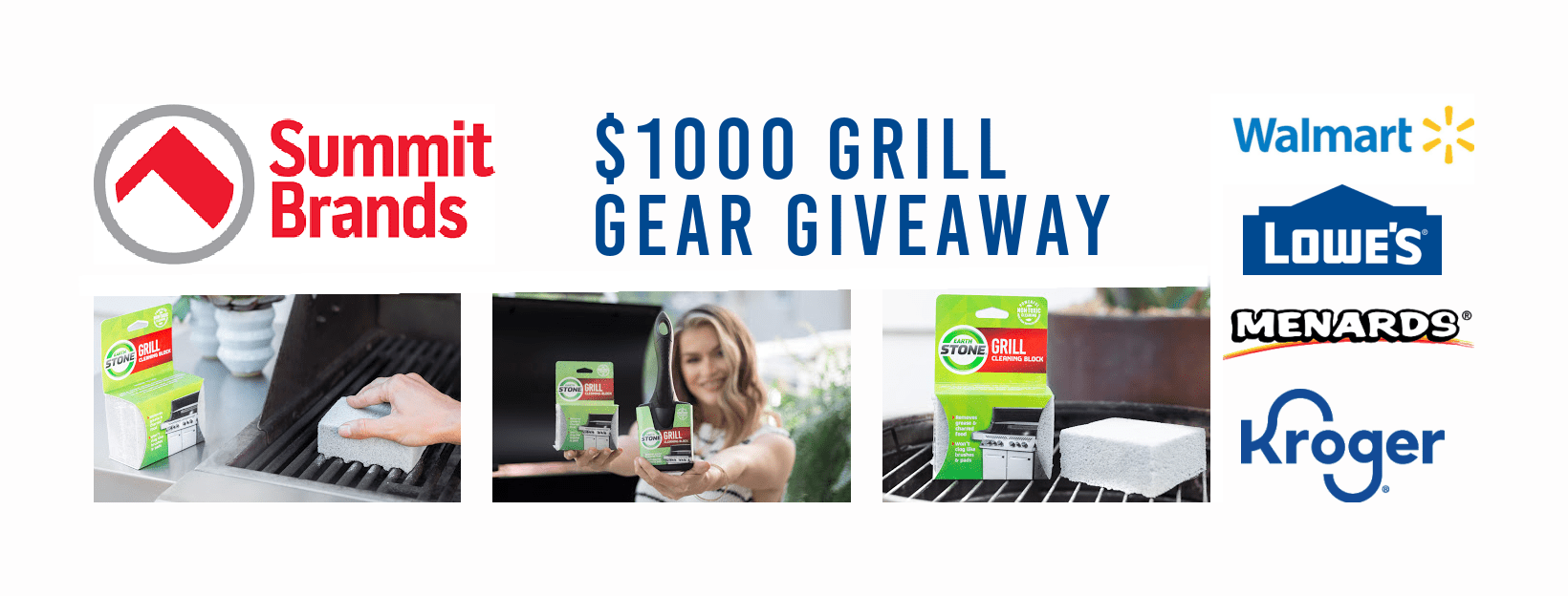 Grill Gear Giveaway! Win a $1000 Gift Card to Lowe's + EarthStone Grill Prize Packs Giveaway Image