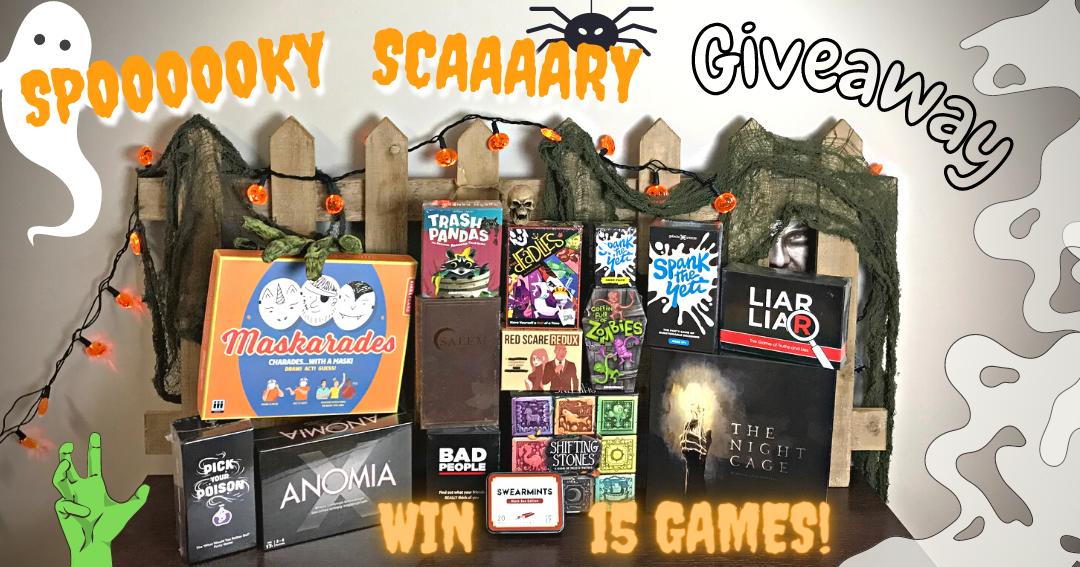 Spooky Scary II - Win $350 of spooky board games Giveaway Image