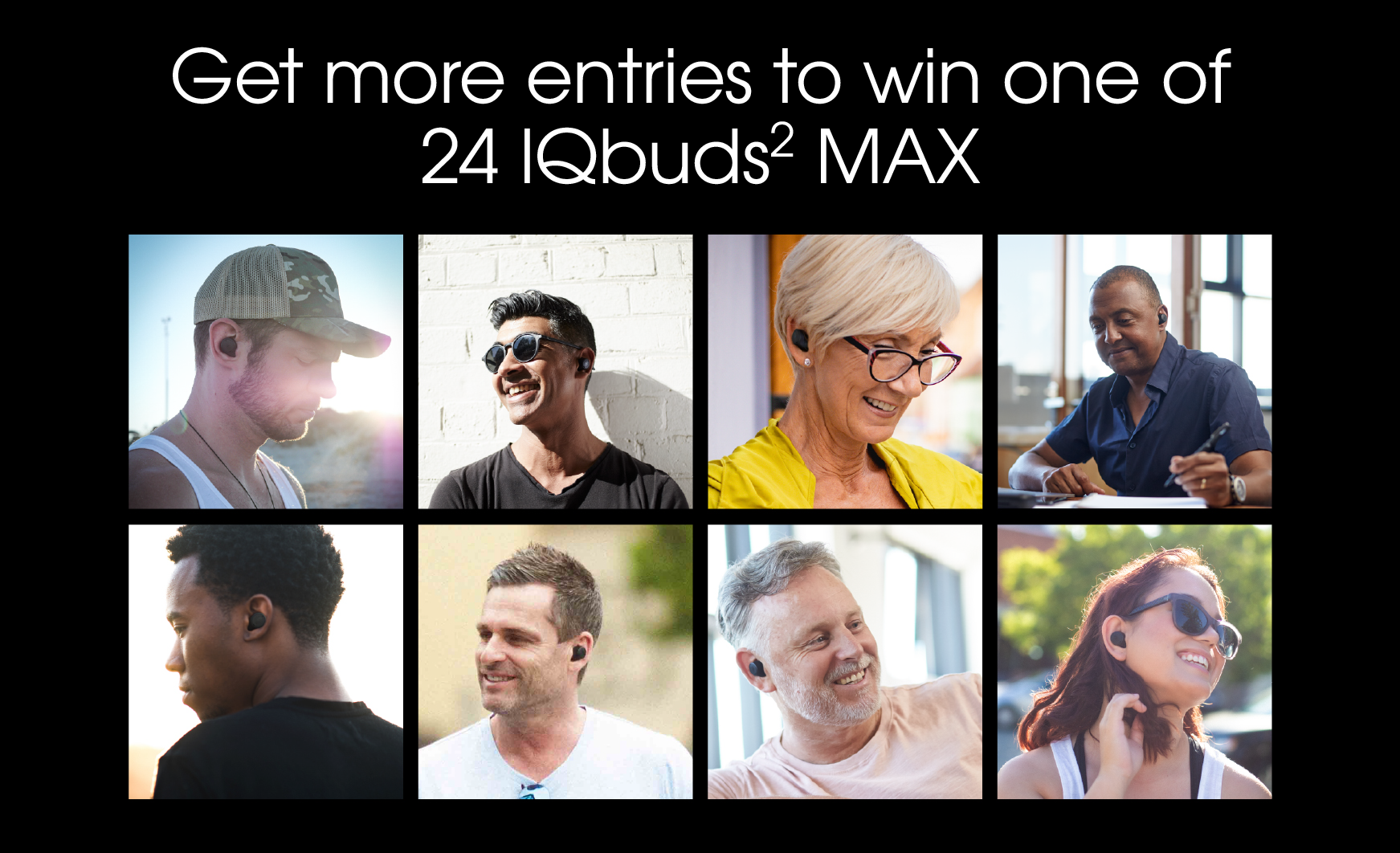 World Hearing Day IQbuds² MAX Giveaway Giveaway Image