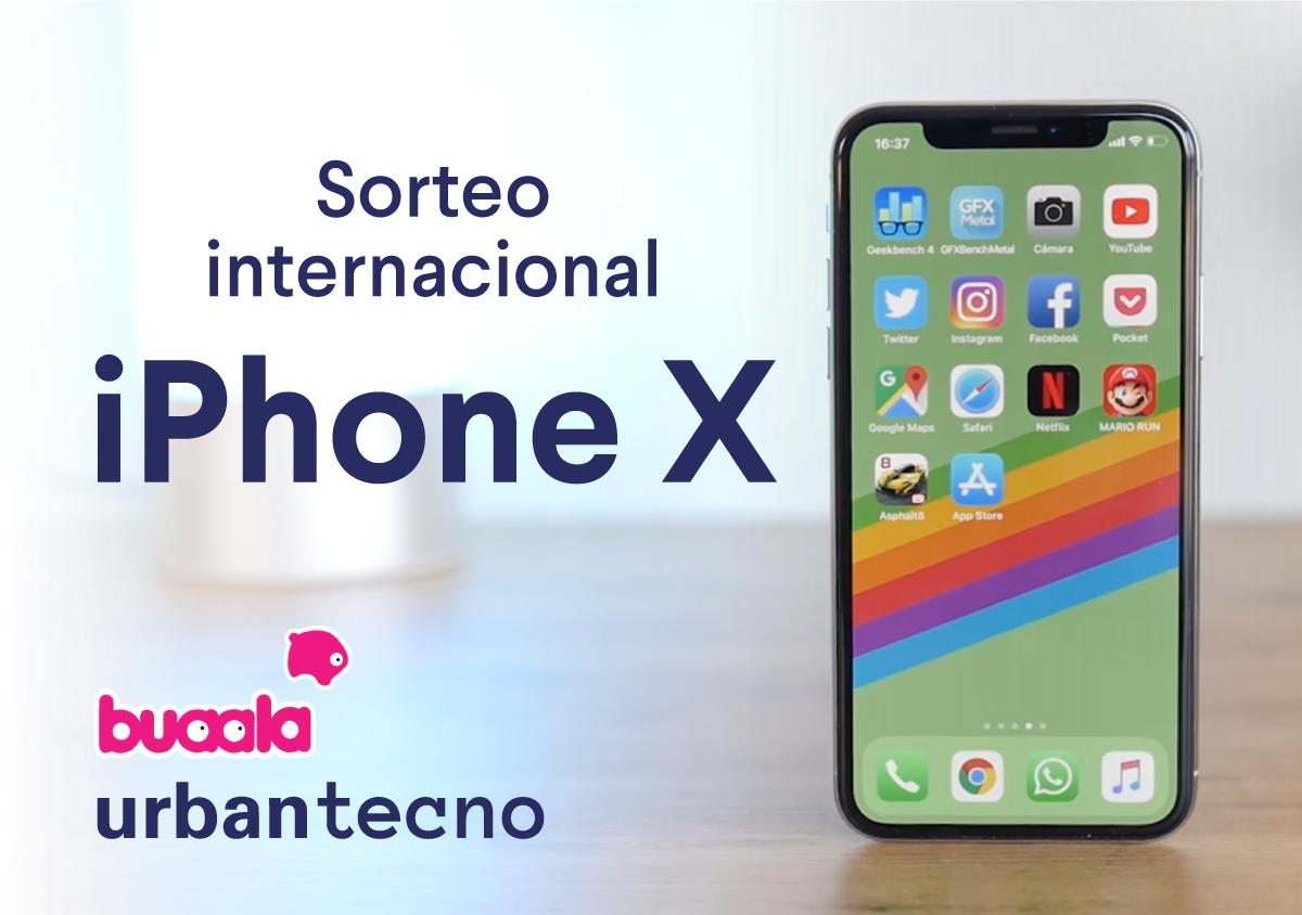 ¡Consigue un iPhone X completamente GRATIS gracias a Buaala y Urban Tecno!