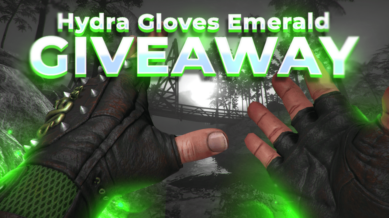 Hydra Gloves Emerald  {08/06/2021} Giveaway Image