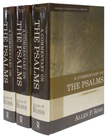 Giveaway of 3-volume Commentary on the Psalms by Allen Ross