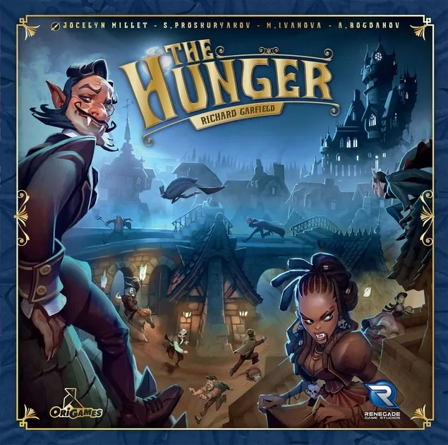 Enter to win a copy of the tabletop game 'The Hunger' from Renegade Game Studios. Giveaway Image