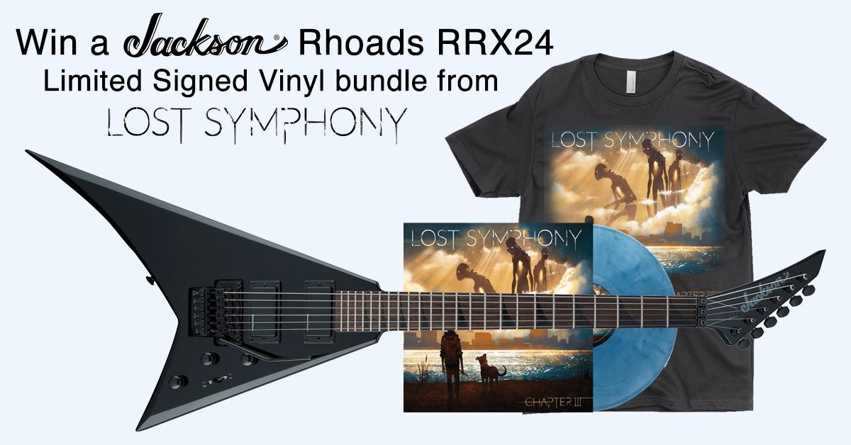 Win a Jackson Rhoads RRX24 Guitar ($800) & Vinyl Bundle from Lost Symphony! Giveaway Image