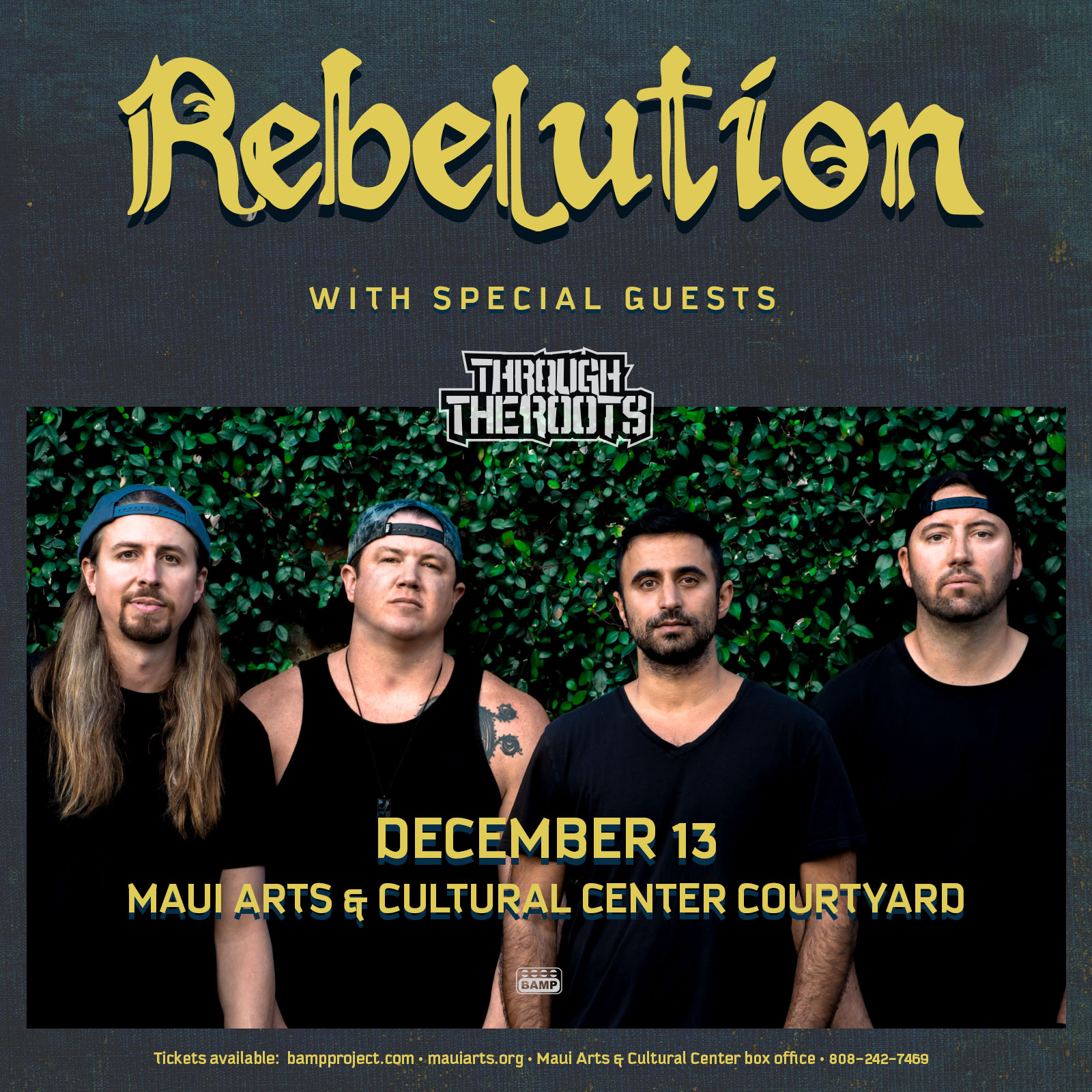 Bamp Project Presents - Rebelution On Maui Sweepstakes