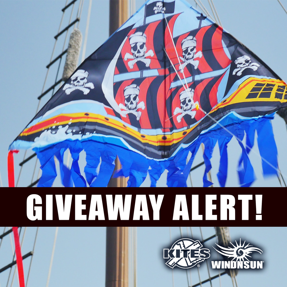 Enter for a chance to win one of our XKITES Delta XT assortment kites! Giveaway Image