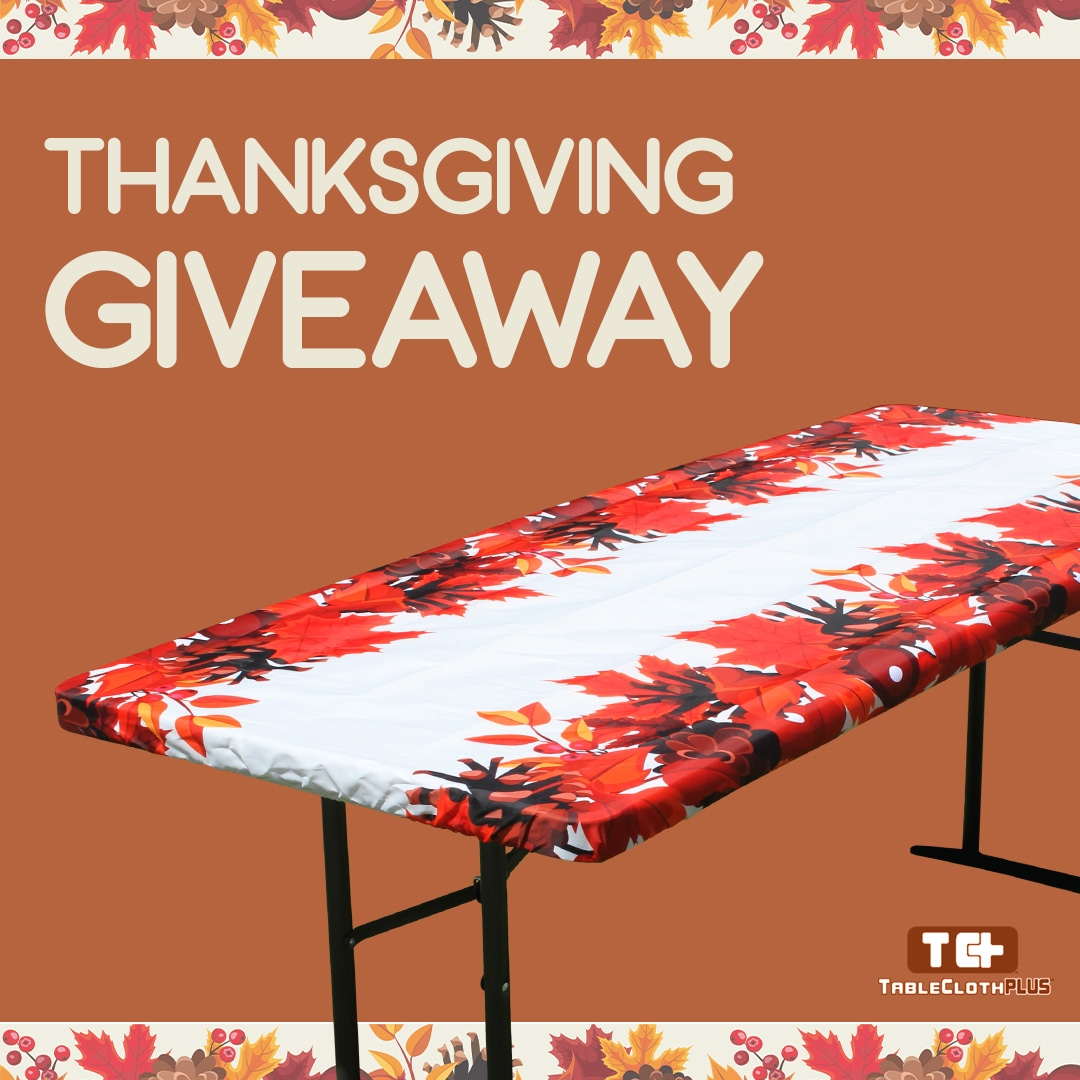 online contests, sweepstakes and giveaways - TableclothPlus THANKSGIVING GIVEAWAY