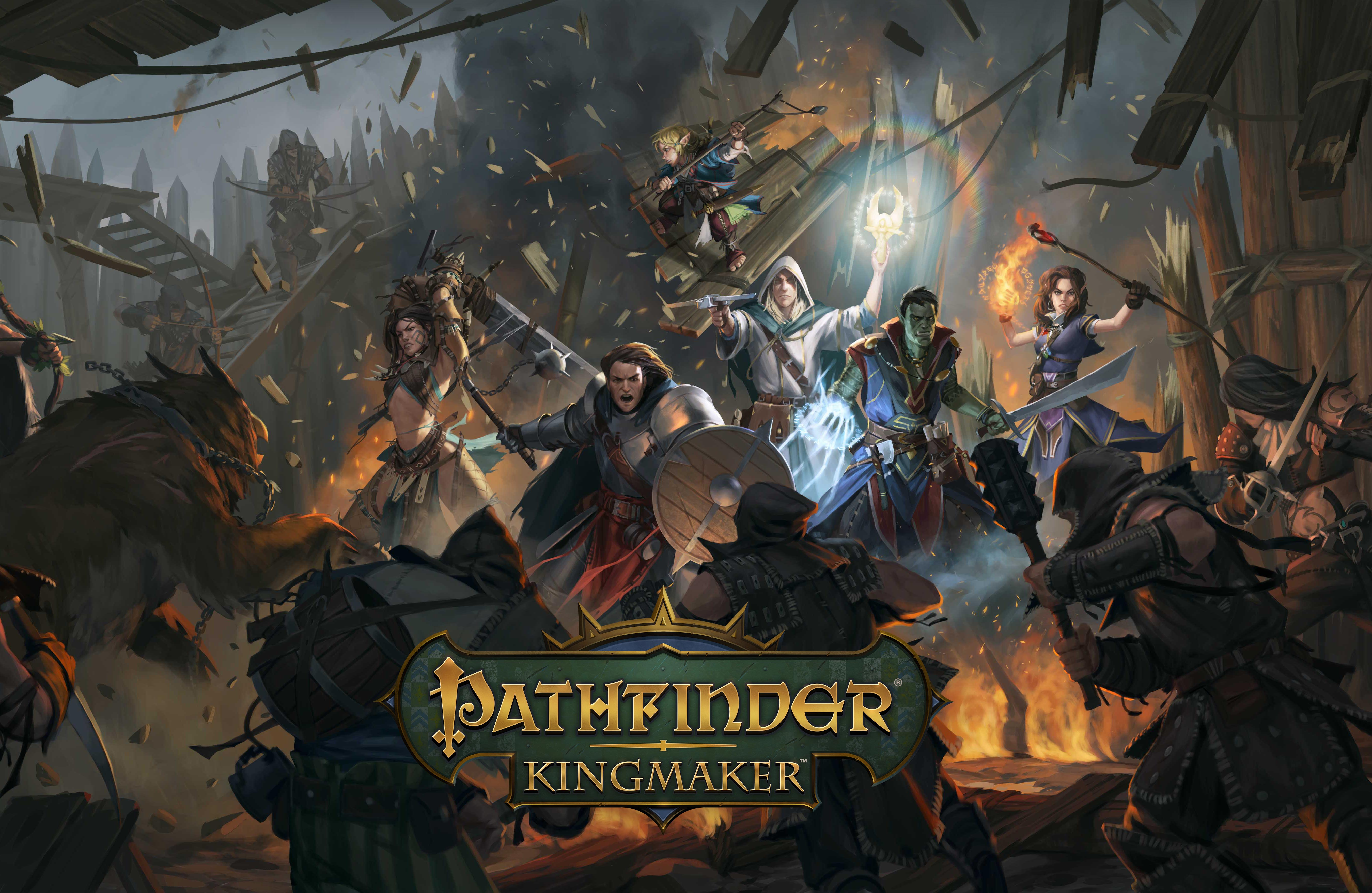 Pathfinder: Kingmaker Code Giveaway with ROG Giveaway Image
